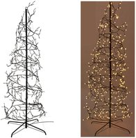 Kerstboom spiraal 180cm - 432 LED - warm wit